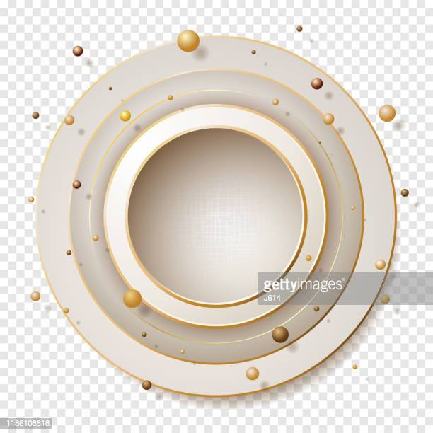 bright and shiny - beige stock illustrations