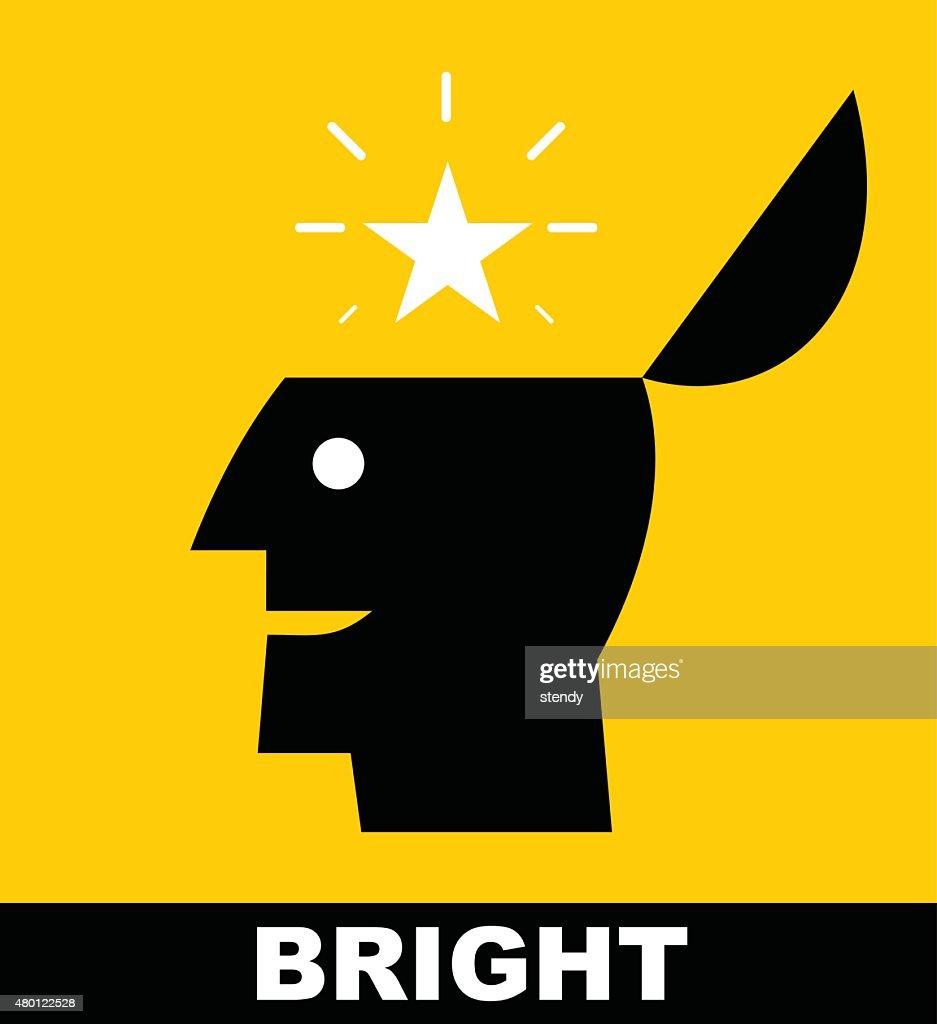 Bright. Bright star. Rising star. Genius.