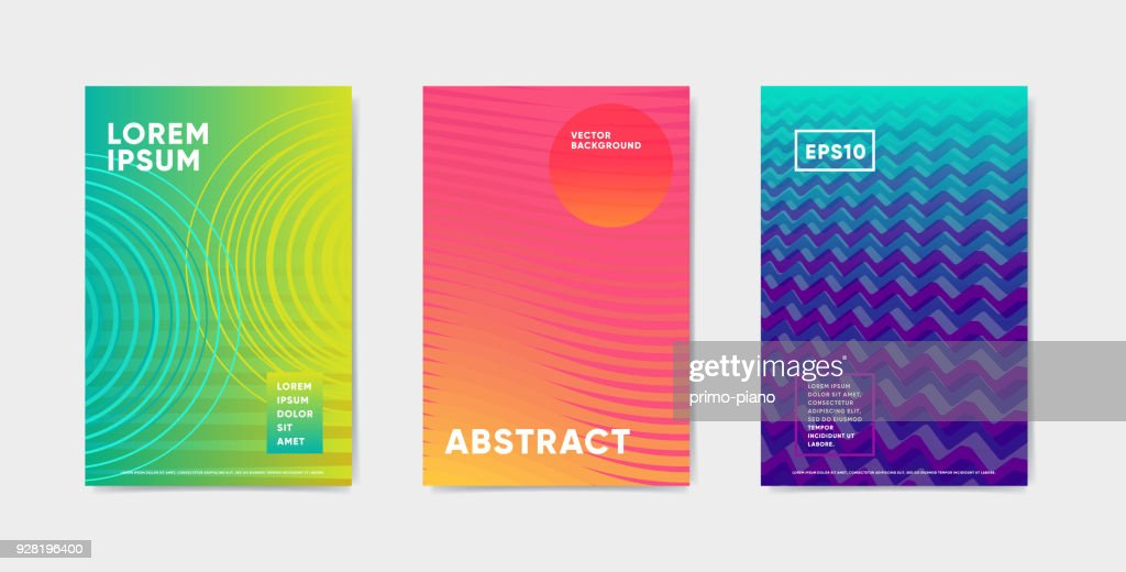 Bright color abstract pattern background