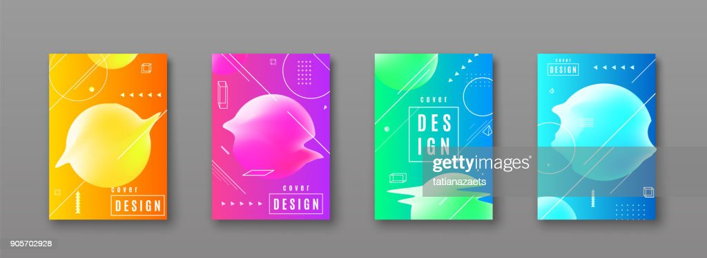 Bright color abstract pattern background with line gradient texture