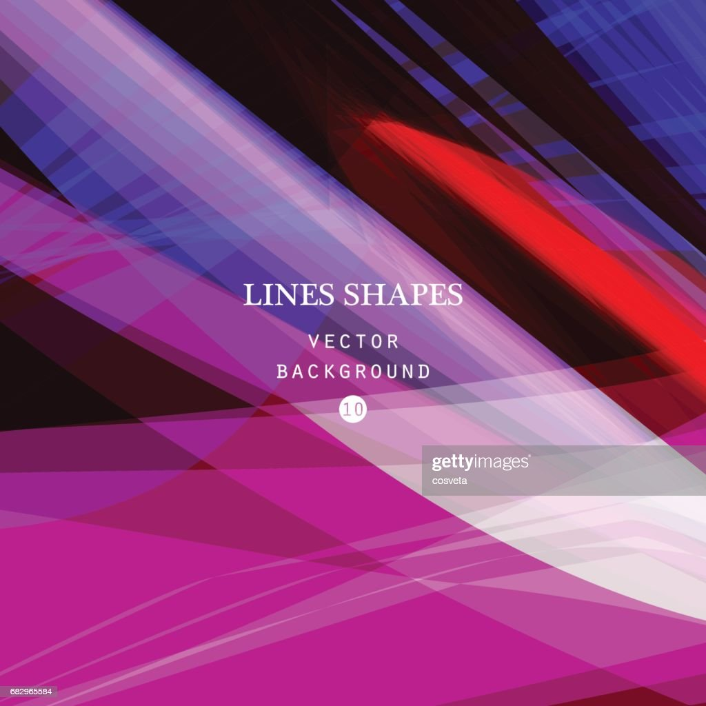 Bright colorful modern striped abstract background vector. Purple blue floral tropical stripes
