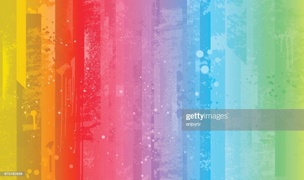 Bright colorful rainbow background : stock illustration