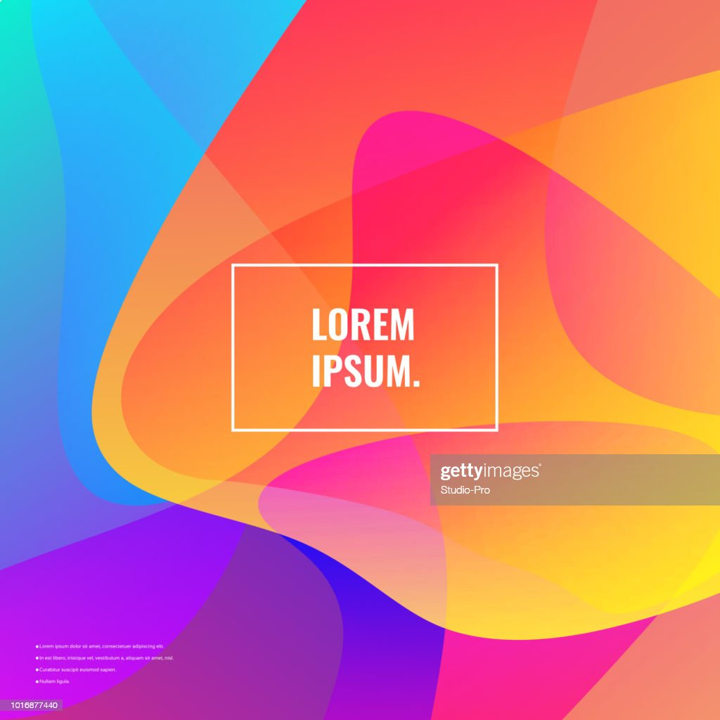 Bright colors background : stock illustration