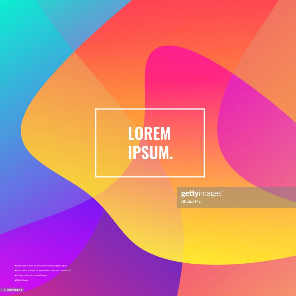 Bright colors background