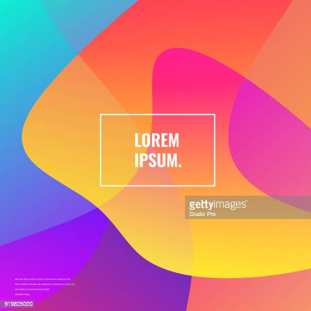 bright colors background - square stock illustrations