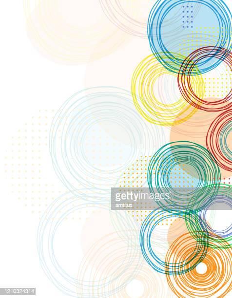 illustrazioni stock, clip art, cartoni animati e icone di tendenza di bordo colori vivaci - arti e mestieri