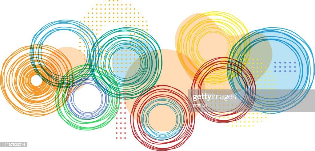 bright colors : stock illustration