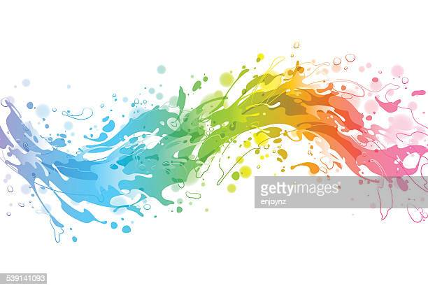 Bright colourful vector background
