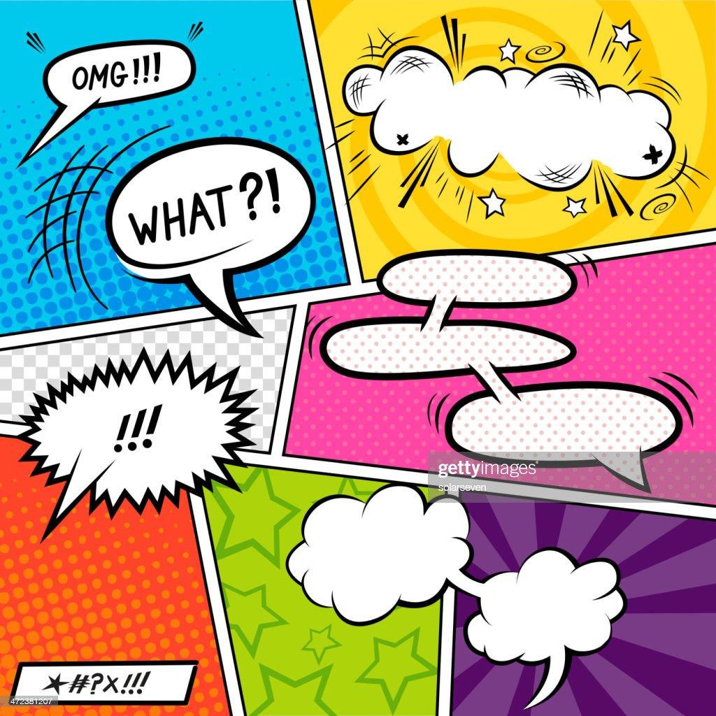 Bright Comic Elements