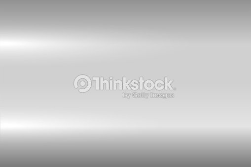 Bright Gray Metallic Texture Shiny Polished Metal Surface Vector Background