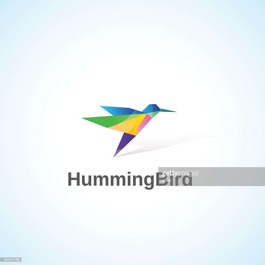 Bright Humming Bird.