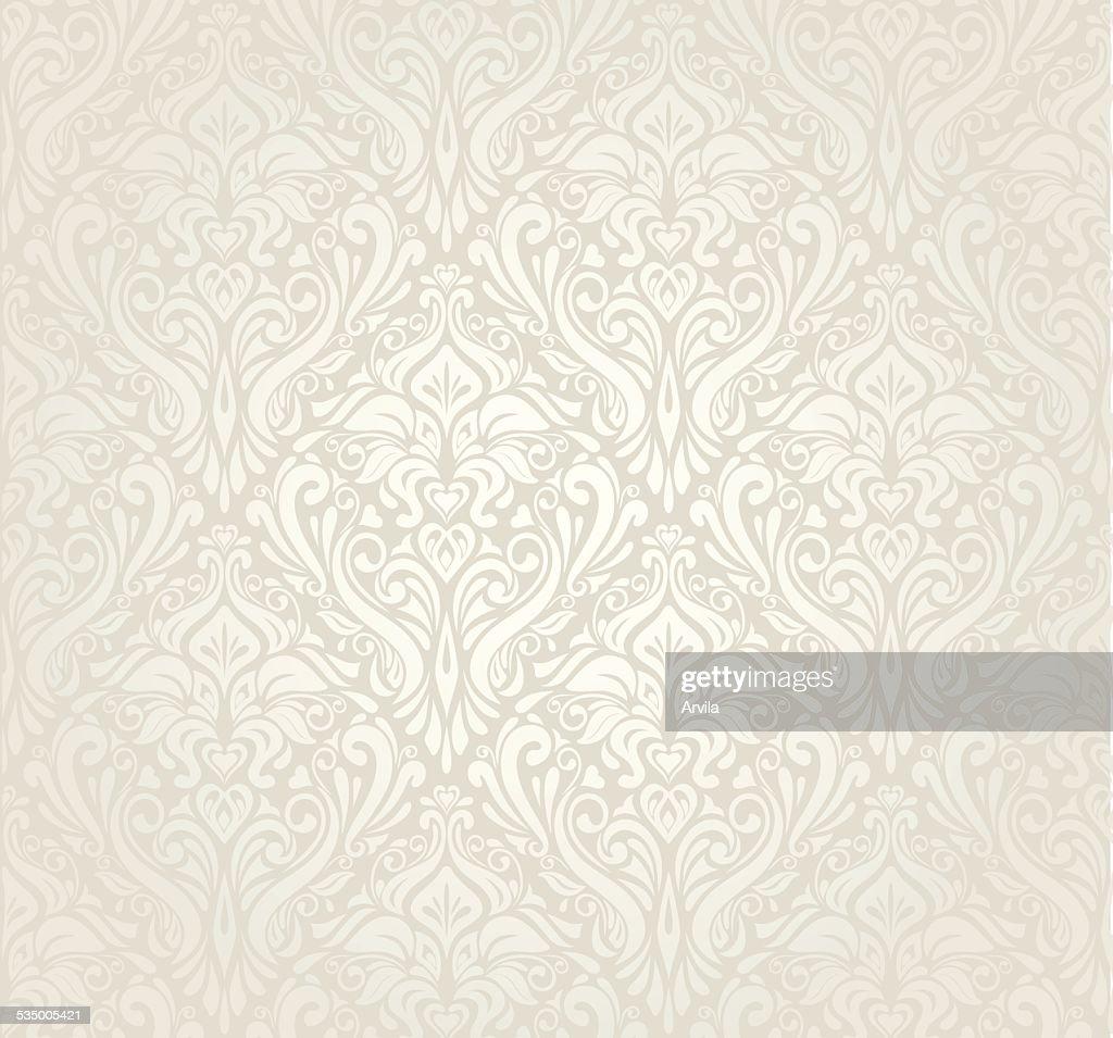Bright luxury vintage wallpaper design