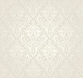 Bright luxury vintage wallpaper design