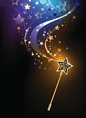 bright magic wand