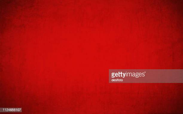 bright maroon, deep red colored cracked effect grunge wall texture empty background- horizontal - papyrus paper stock illustrations