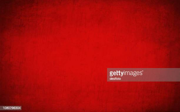 bright maroon, deep red colored cracked effect wall texture vector background- horizontal - red stock illustrations
