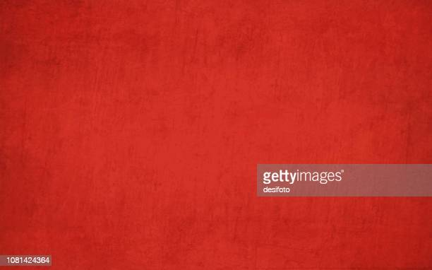 ilustrações de stock, clip art, desenhos animados e ícones de bright maroon, deep red colored crumpled effect wall texture grunge vector background- horizontal - illustration - fora de moda estilo