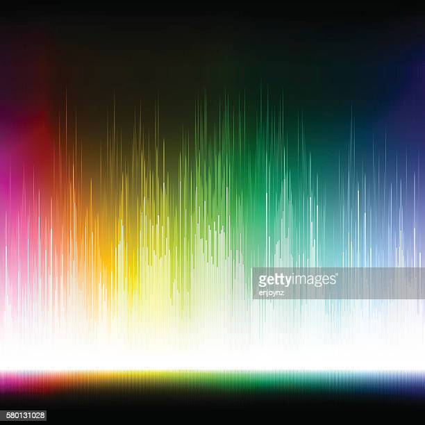 Bright rainbow colored background