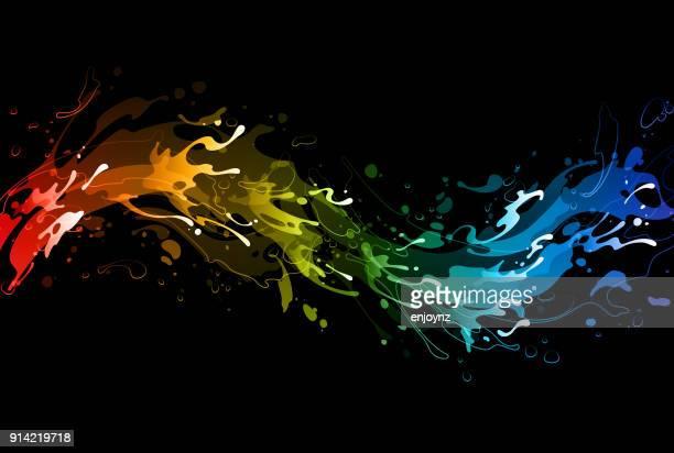 60 Top Splatter Paint Font Stock Illustrations, Clip art, Cartoons