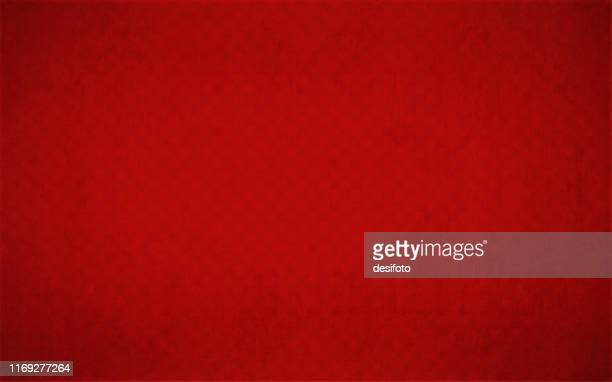 bright red coloured half tone vector background illustration - red stock illustrations