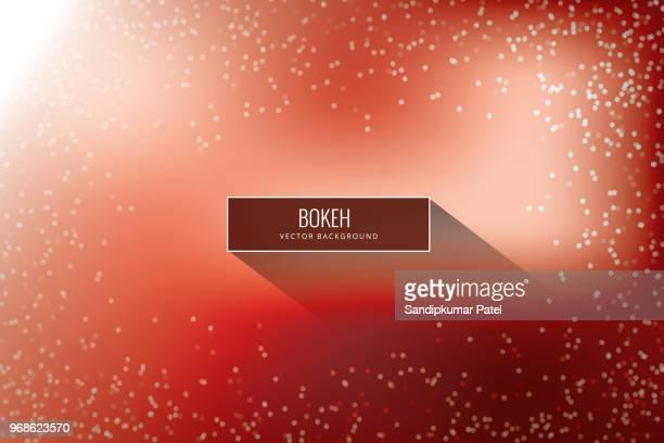 bright red high key bokeh dot background - high key stock illustrations, clip art, cartoons, & icons