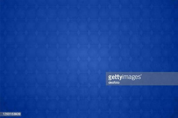 illustrations, cliparts, dessins animés et icônes de fond à damier de couleur bleu royal lumineux avec motif sans couture de petites formes de rhombus interconnectées partout - bleu roi