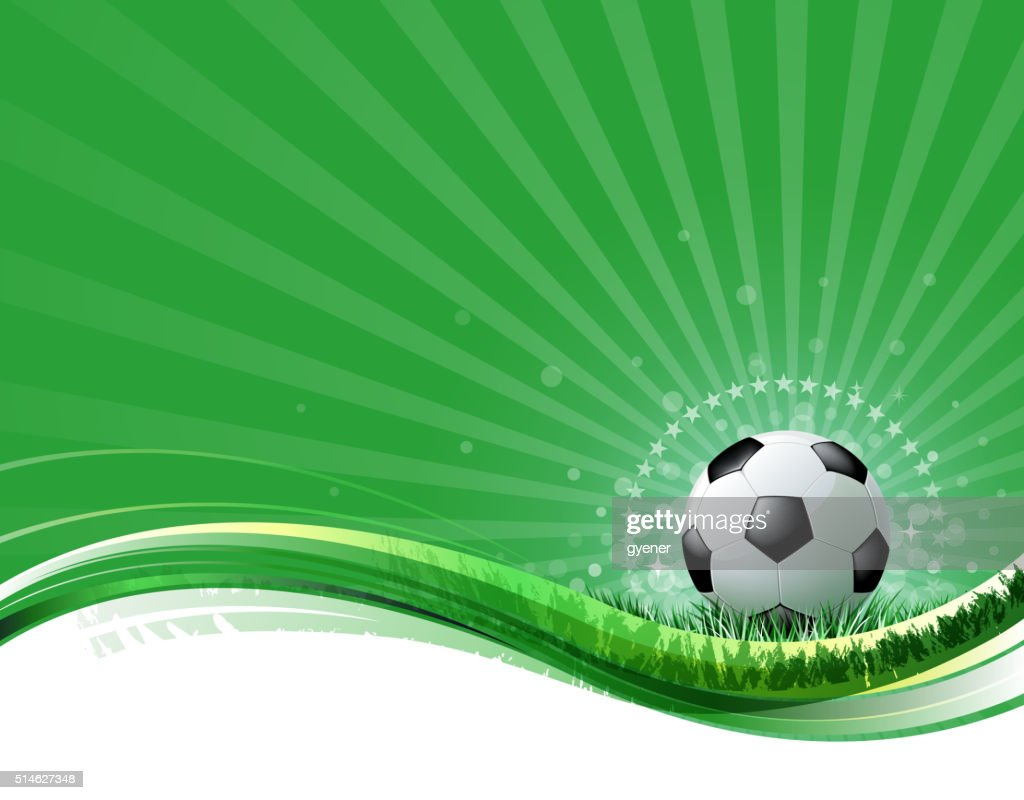 bright soccer background