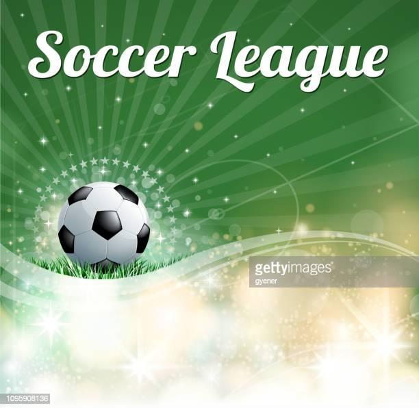 bright soccer stadium - soccer competition stock illustrations