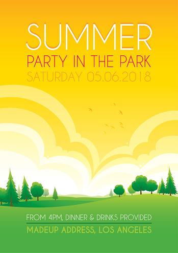 Bright summer park background - gettyimageskorea