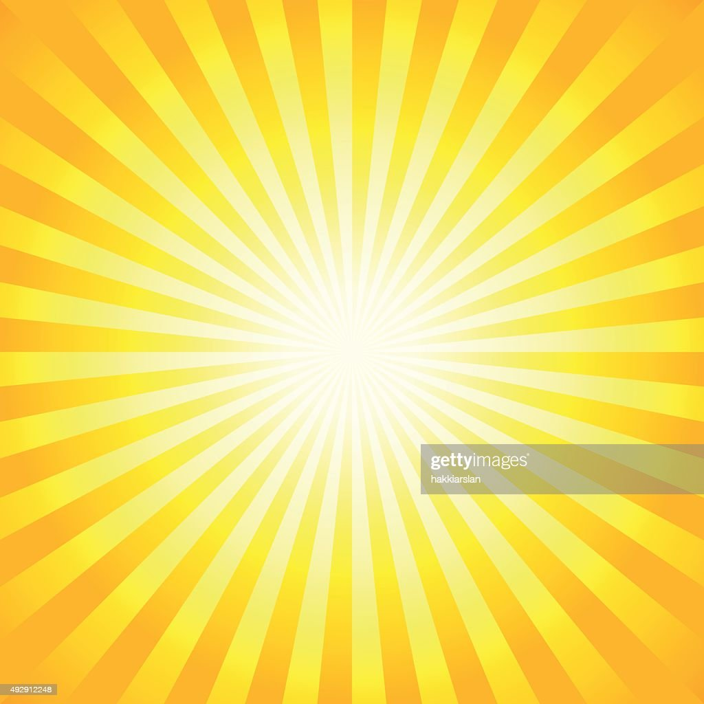 Bright sunbeams, shiny summer background.