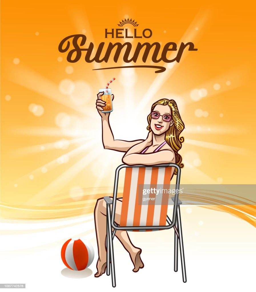 bright sunlight sign : stock illustration