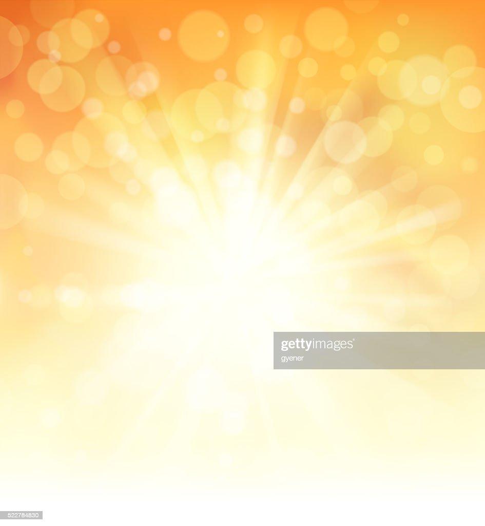 Helles Sonnenlicht : Stock-Illustration