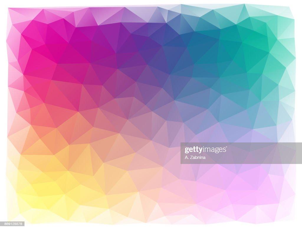 bright triangular abstract background : stock illustration