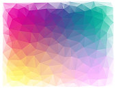 bright triangular abstract background