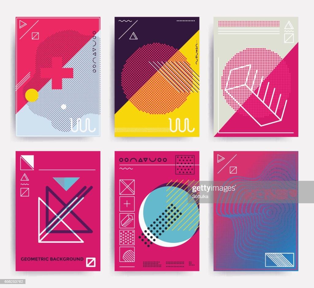 Bright vector design poster