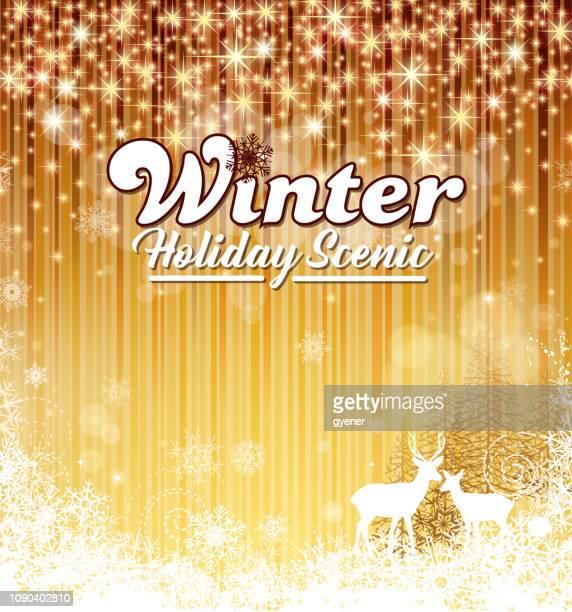 bright winter holiday