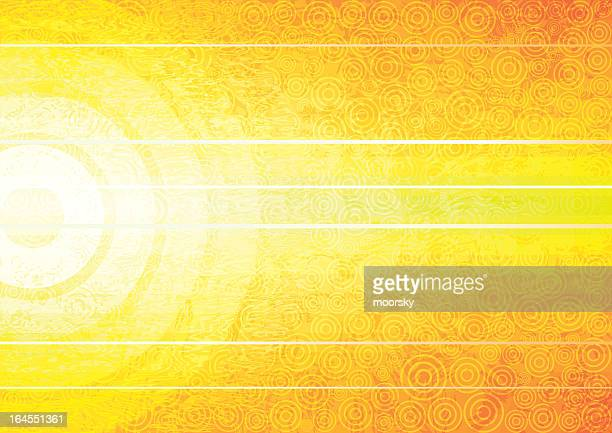 bright yellow abstract background with white lines - heat temperature stock illustrations, clip art, cartoons, & icons