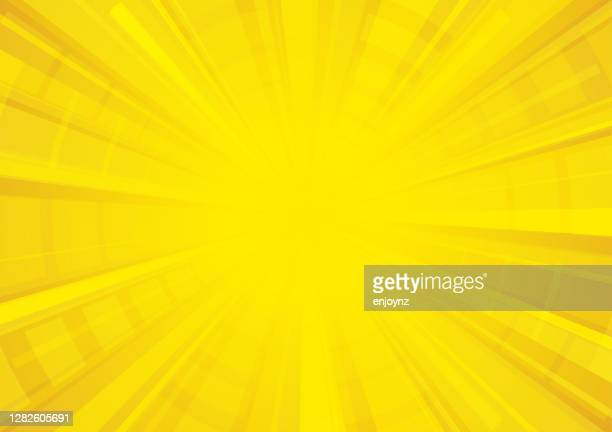 bright yellow comic star burst background - yellow stock illustrations