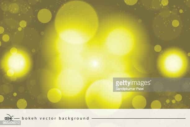 bright yellow high key bokeh dot background - high key stock illustrations, clip art, cartoons, & icons