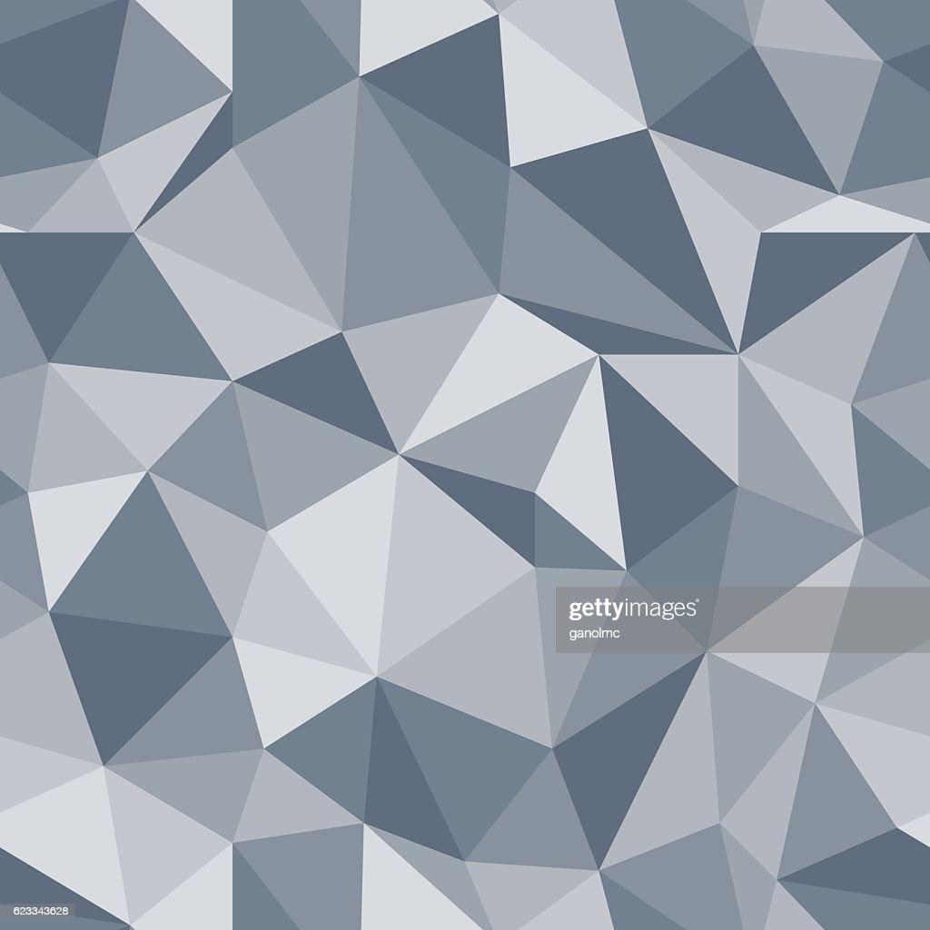 Brilliant seamless pattern. Diamond triangle vector background.