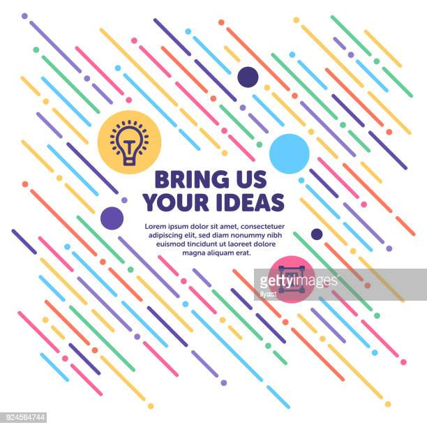 Bring Us Your Ideas Banner