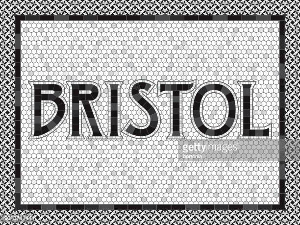 Bristol Old Fashioned Mosaic Tile Typography
