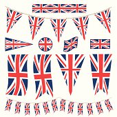 British Bunting Pennants and Flags