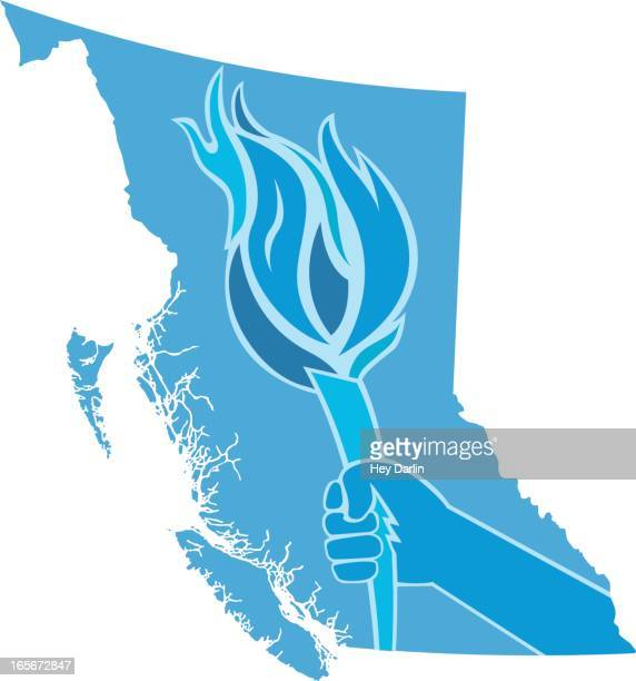 British Columbia-Fackel