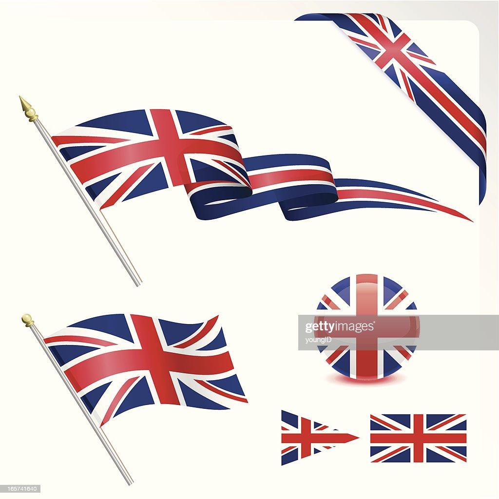 British Flag Set