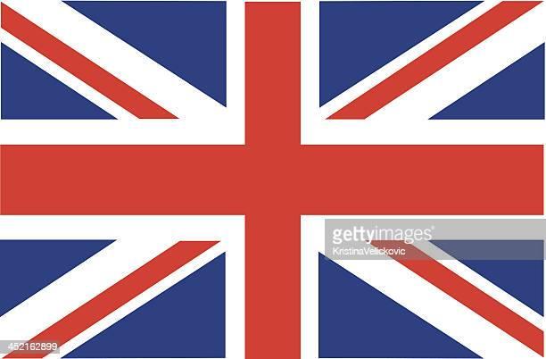 ilustraciones, imágenes clip art, dibujos animados e iconos de stock de bandera británica - bandera del reino unido