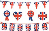 British Flags and Bunting