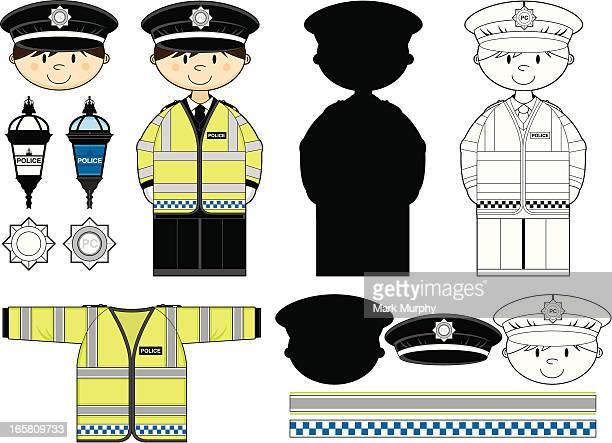 British Policeman Clip Art