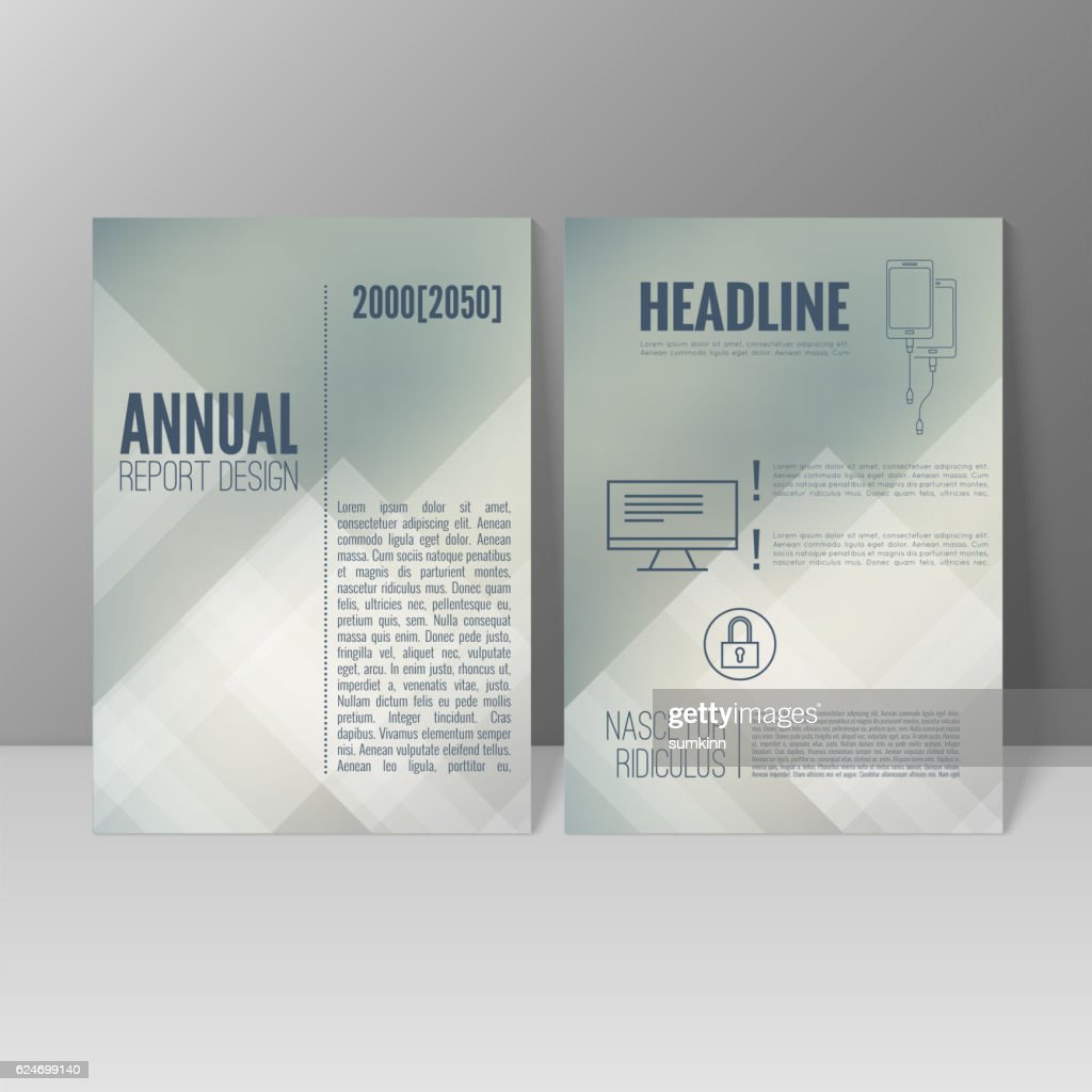 Brochure annual report.