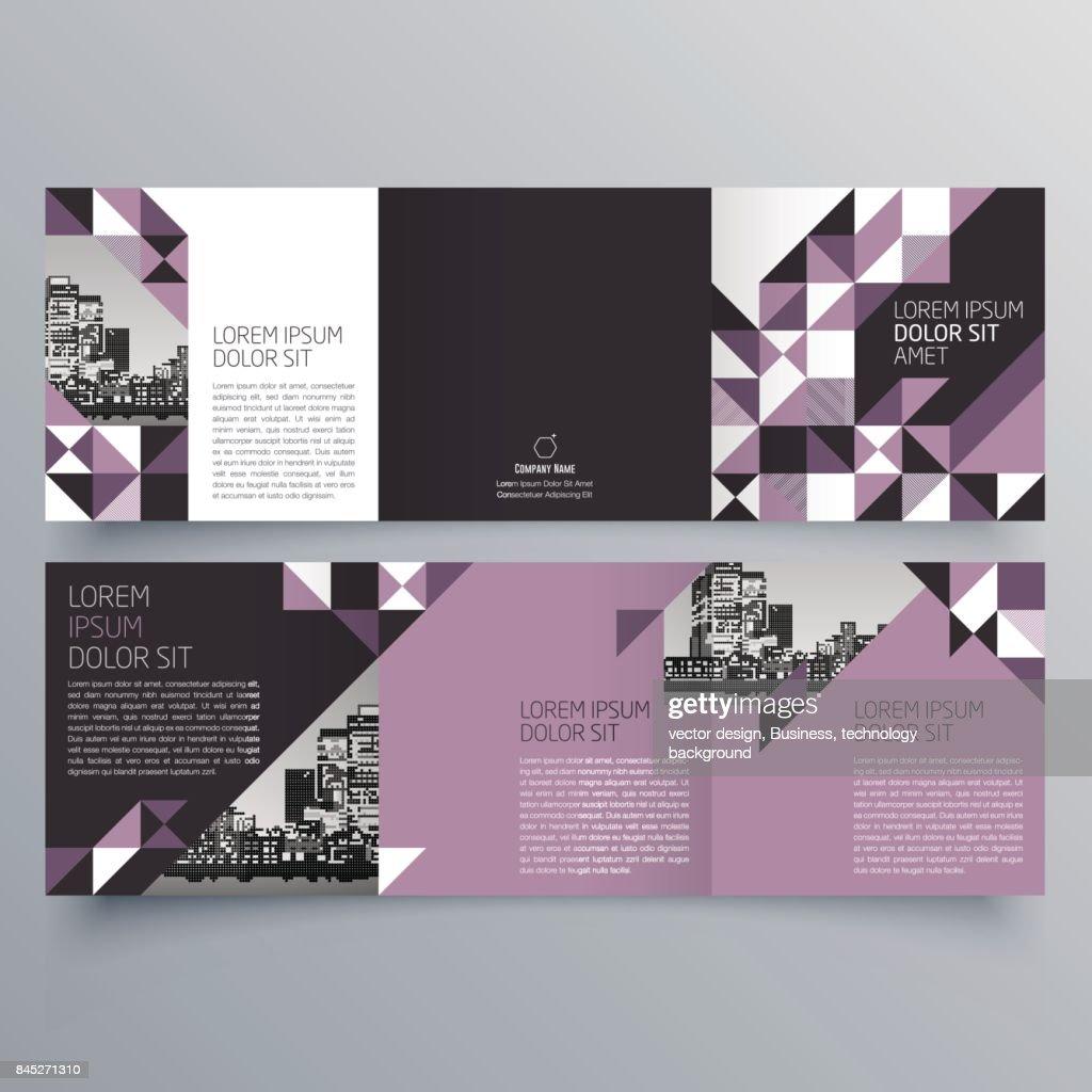 in design flyer template